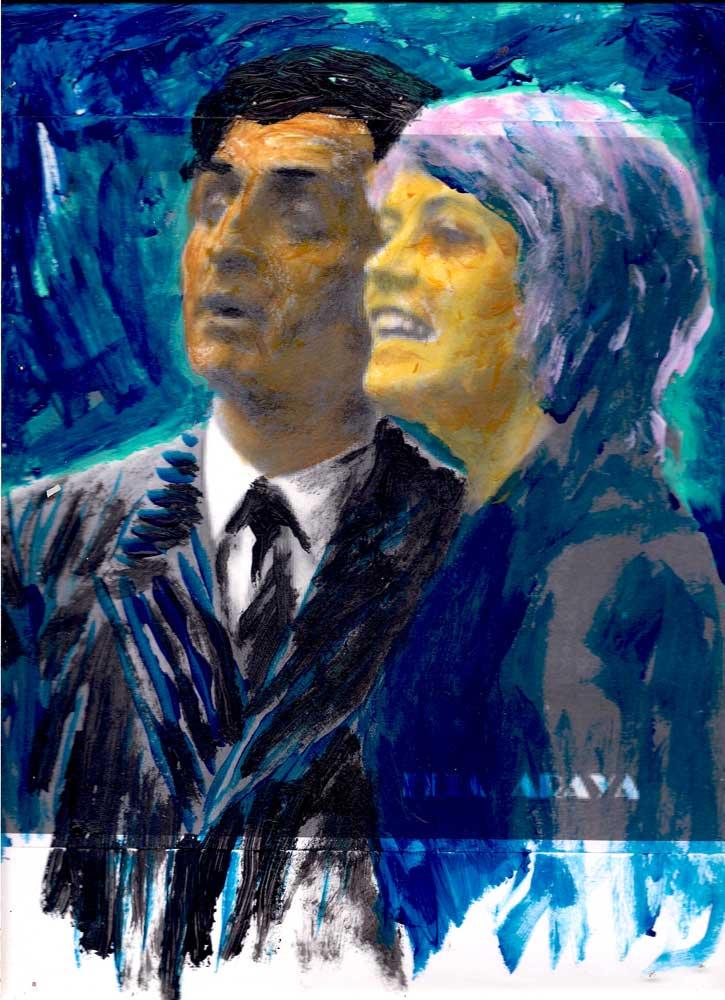 Carlos María Araya y Catalina Fleming